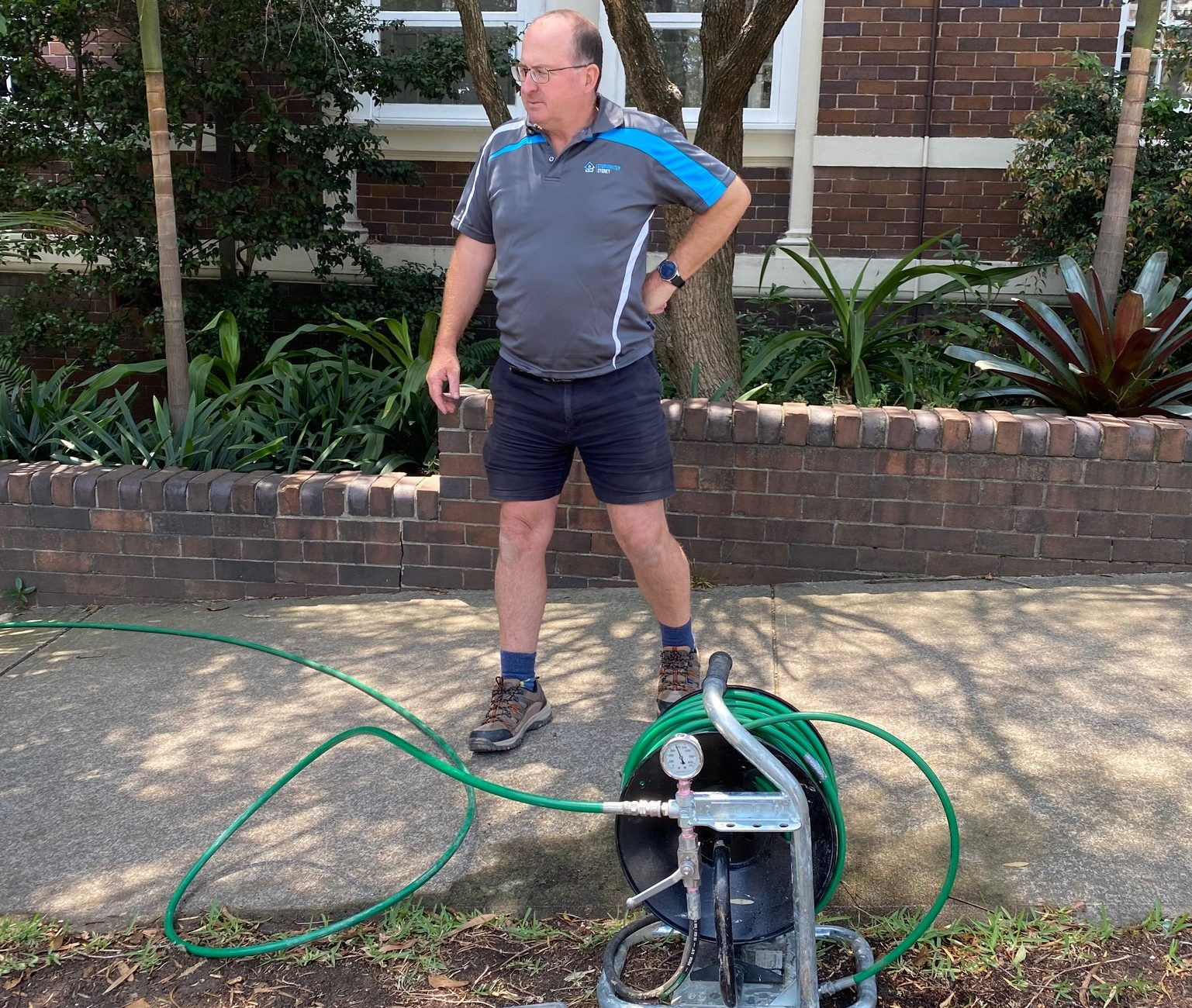 Paul Milic, strata complex, stormwater  maintenance and cleaning,  blocked drains and downpipes.