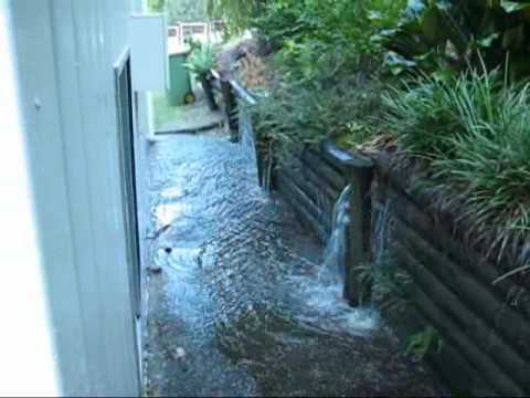 runoff from neighbour
